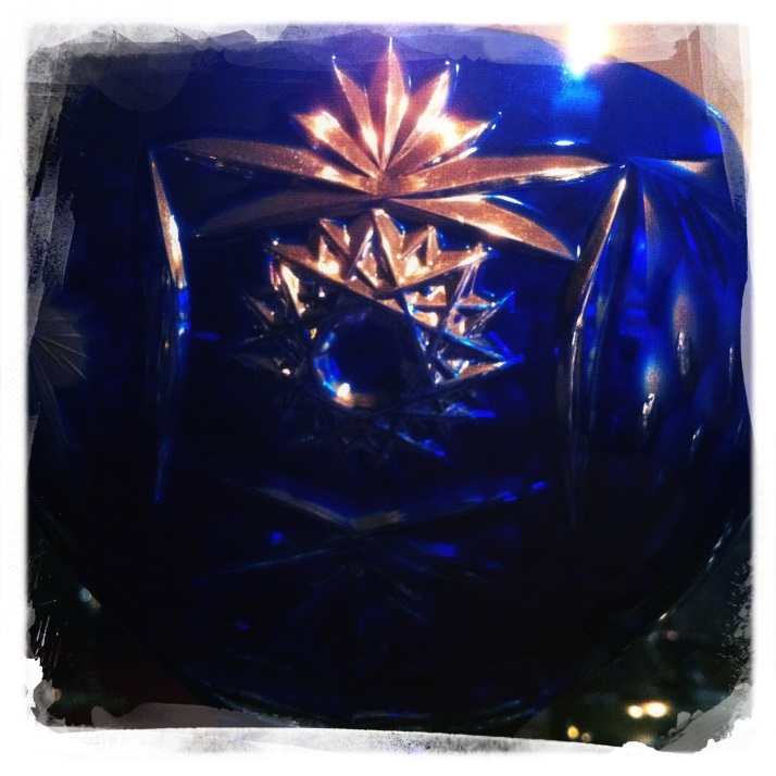Candlelit crystal
