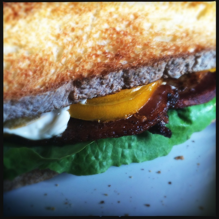 First BLT of the season was not half as satisfying as I'd anticipated.