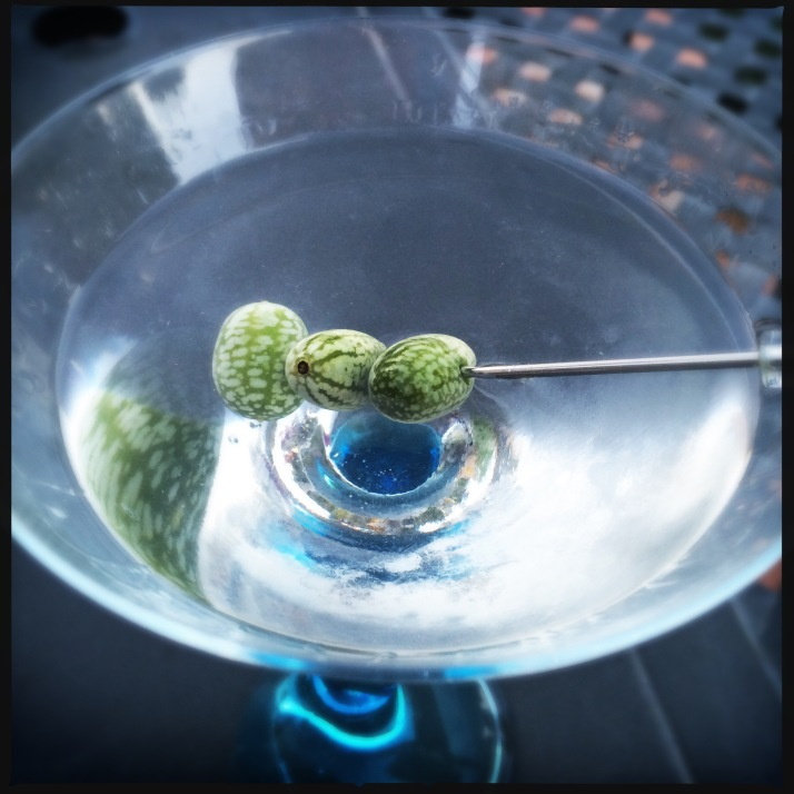 ... for a great martini garnish!