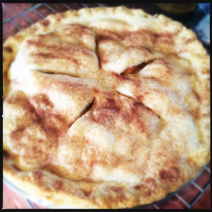 And of course a couple of peach pies.